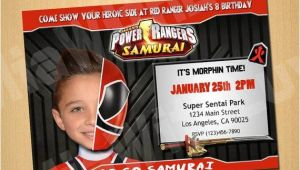 Custom Power Ranger Birthday Invitations 46 Best Images About Power Rangers Birthday Party Ideas On