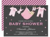 Cutest Girl Baby Shower Invitations Girly Cute Pink Girl Baby Shower Invitations & Party Ideas