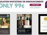 Cvs Graduation Party Invitations 10 Graduation Announcements Passion for Savings