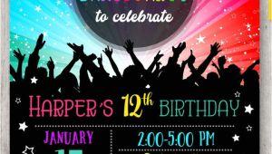 Dance Party Invitation Template 15 Dance Party Invitation Designs Templates Psd Ai
