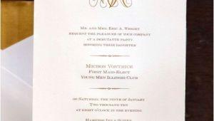 Debutante Party Invitations Debutante Invitation Just B Cause