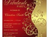 Debutante Party Invitations Personalized Debutante Invitations Custominvitations4u Com