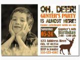 Deer Hunting Birthday Party Invitations Deer Hunting Birthday Invitation Camo by Puggyprints On Etsy