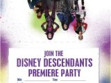 Descendants Party Invitations Printable Free Disney Descendants Dolls Backpacks Jewelry Costumes