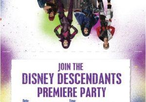 Descendants Party Invitations Printable Free Disney Descendants Dolls Backpacks Jewelry Costumes