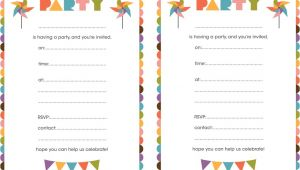 Design Birthday Invitations Free Printable Best Compilation Of Printable Birthday Party Invitations