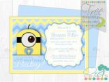 Despicable Me Baby Shower Invitations Best 25 Minion Baby Shower Ideas On Pinterest