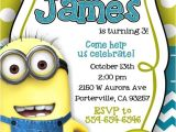 Despicable Me Baby Shower Invitations Despicable Me Minion Invitations by Notyouraverageblonde