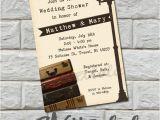 Destination Wedding Bridal Shower Invitations Vintage Suitcase Wedding Shower Invitation Bridal Shower