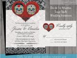 Dia De Los Muertos Wedding Invitations 1000 Images About Jackie and Chris Wedding On Pinterest