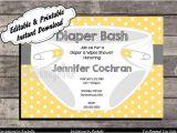 Diaper Party Invitation Template Free Diaper Party Invitations Printable