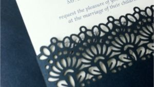 Die Cut Wedding Invites Laser Cut Wedding Invitations Die Cut Wedding Invitations