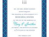 Dinner Party Invitation Text Message Foil Silverware Corporate Invitations by Invitation