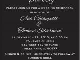 Dinner Party Invitation Text Message Items Similar to Rehearsal Dinner Party Invite Custom
