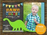 Dinosaur 1st Birthday Party Invitations Dinosaur 1st Birthday Invitations A Birthday Cake