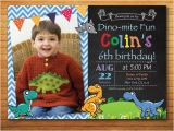 Dinosaur 1st Birthday Party Invitations Dinosaur Birthday Invitation Boy Dinosaur Party Invite