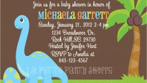 Dinosaur Baby Shower Invitation Template Dinosaur Baby Shower Invitations Template
