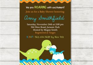 Dinosaur Baby Shower Invitations Online Dinosaur Baby Shower Invitation Dinosaur Baby by