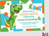 Dinosaur Party Invitation Template Free 14 Dinosaur Birthday Invitations Psd Vector Eps Ai