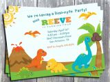 Dinosaur Party Invitation Template Free Free Printable Dinosaur Birthday Invitations