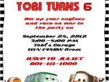 Disney Cars Birthday Party Invitations Templates Disney Cars Birthday Invitation ← Wedding Invitation