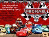 Disney Cars Birthday Party Invitations Templates Disney Cars Birthday Invitations Ideas – Bagvania Free