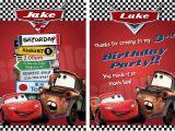 Disney Cars Birthday Party Invitations Templates Disney Cars Birthday Invitations