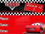 Disney Cars Birthday Party Invitations Templates Disney Cars Ticket Invitations Template Free