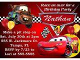 """Disney Cars Birthday Party Invitations Templates """"disney Cars Birthday Party Invitations"""""""