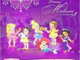 Disney Princess Baby Shower Invites Disney Baby Princess Personalized Digital Invitation