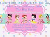 Disney Princess Baby Shower Invites Disney Baby Shower Ideas Baby Ideas