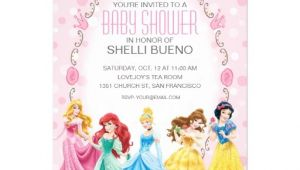 Disney Princess Baby Shower Invites Disney Princess It S A Girl Baby Shower 5×7 Paper