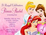 Disney Princess Birthday Invitation Templates Free Free Birthday Party Invitation Templates