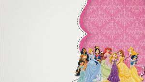 Disney Princess Birthday Invitations Free Templates Free Printable Disney Princess Birthday Invitations