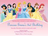 Disney Princess Birthday Party Invitations Free Printables Disney Princess Invitations Template
