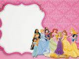 Disney Princess Birthday Party Invitations Free Printables Disney Princess Party Free Printable Party Invitations