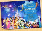 Disney themed Party Invitations Birthday Invitation Templates Disney Birthday Invitations