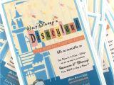 Disney themed Party Invitations Disneyland themed Birthday Party Invitation Disney Party