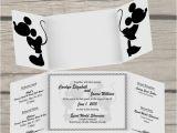 Disney themed Wedding Invitations Disney Wedding Invitation by thelittlestickynote On Etsy