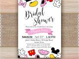 Disney Up Bridal Shower Invitations Disney theme Bridal Shower Invitation Printable Disney