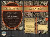 Diy Camo Wedding Invitations Diy Printable Camo Wedding Invitation Rsvp by atomicapress