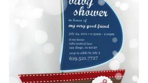 Diy Nautical Baby Shower Invitations Items Similar to Diy Nautical Baby Shower Invitation