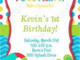 Diy Pool Party Invitation Ideas 17 Best Images About Pool Party Birthday Ideas On