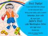 Diy Pool Party Invitation Ideas Diy A Simple Pool Party Invitations Not for A Birthday