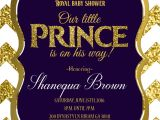 Diy Prince Baby Shower Invitations Royal Baby Shower Invitation Royal Prince Gold