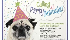 Dog Birthday Party Invitation Templates Dog Birthday Party Invitations Bagvania Invitations Ideas