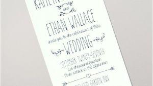 Doodle Wedding Invitation Template Doodle Love Tall Wedding Invitation Download Print