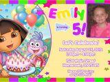 Dora Customized Birthday Invitations Personalized Printable Invitations
