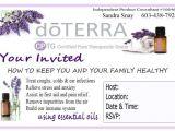 Doterra Party Invites Doterra Class Templates Google Search