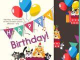 Download Birthday Invitation Template Birthday Invitation Template Free Vector Download 20 967